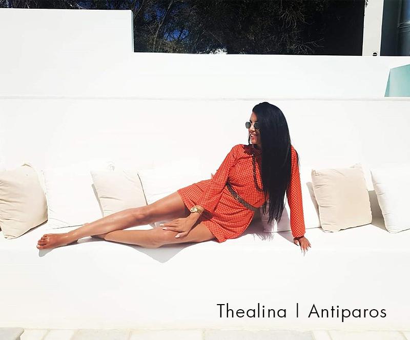 Thealina, Antiparos - Antmarkant