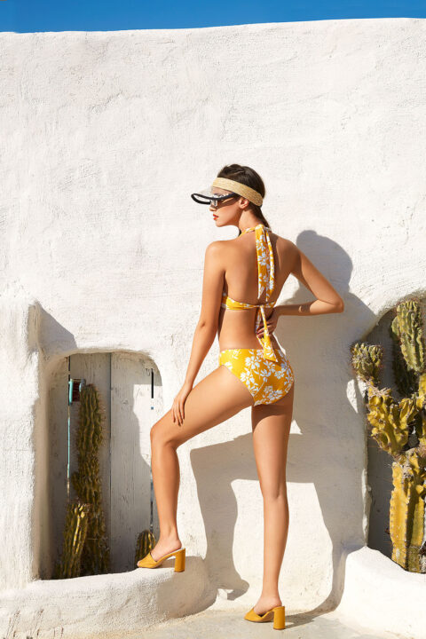THRILLED BIKINI IN YELLOW DESIGN